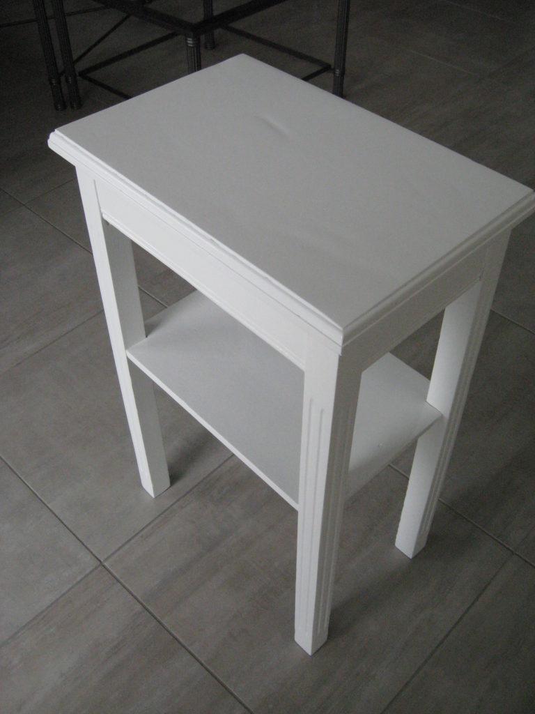 peinture mobiliers tables basse et chevet atelier du