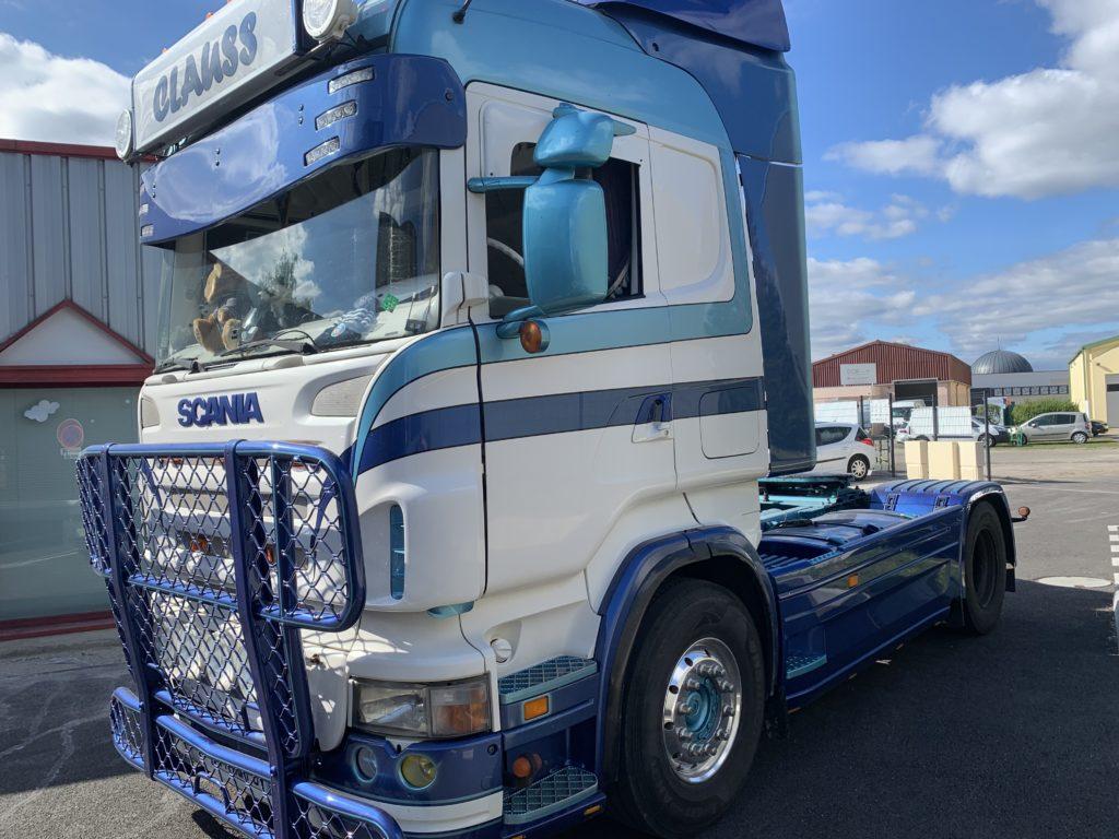Peinture et personnalisation de camions
